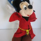 Disney's Mickey Mouse Wizard Plush Stuffed Animal 9 in. L x 16 in.T Pre-Owned