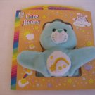 Care Bear Green Wish Bear Finger Puppet Let's Make a Wish Cake Book New