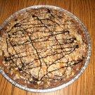Carmel Fudge Brownie Pizza