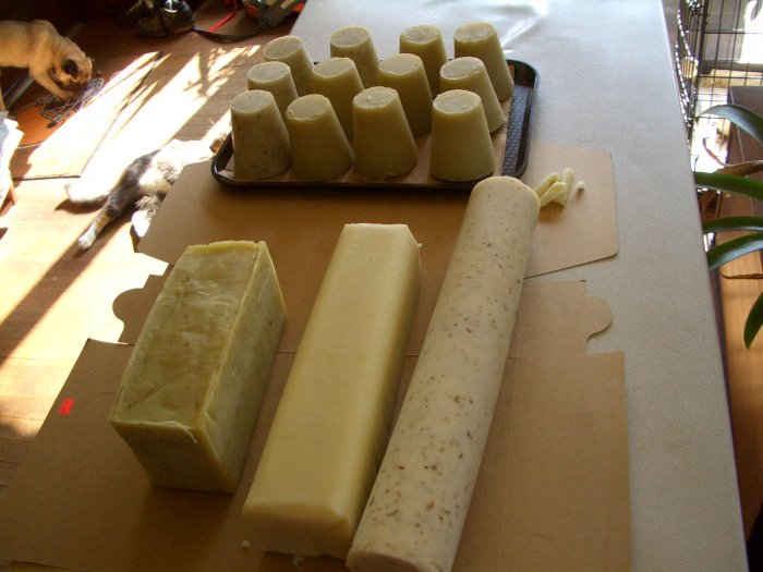 All Natural Soap- Cucumber Rain
