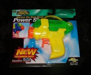 Buzz Bee Toys Power Shot Water Gun- Yellow