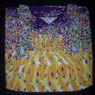 Yellow and Purple Dress- Size XXL