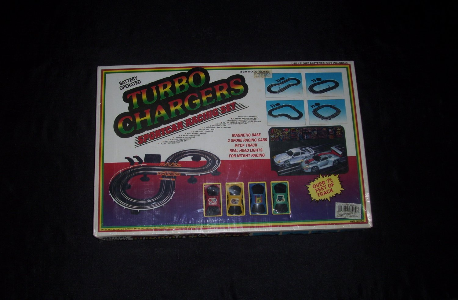 Turbo Chargers Race Car Toy Set