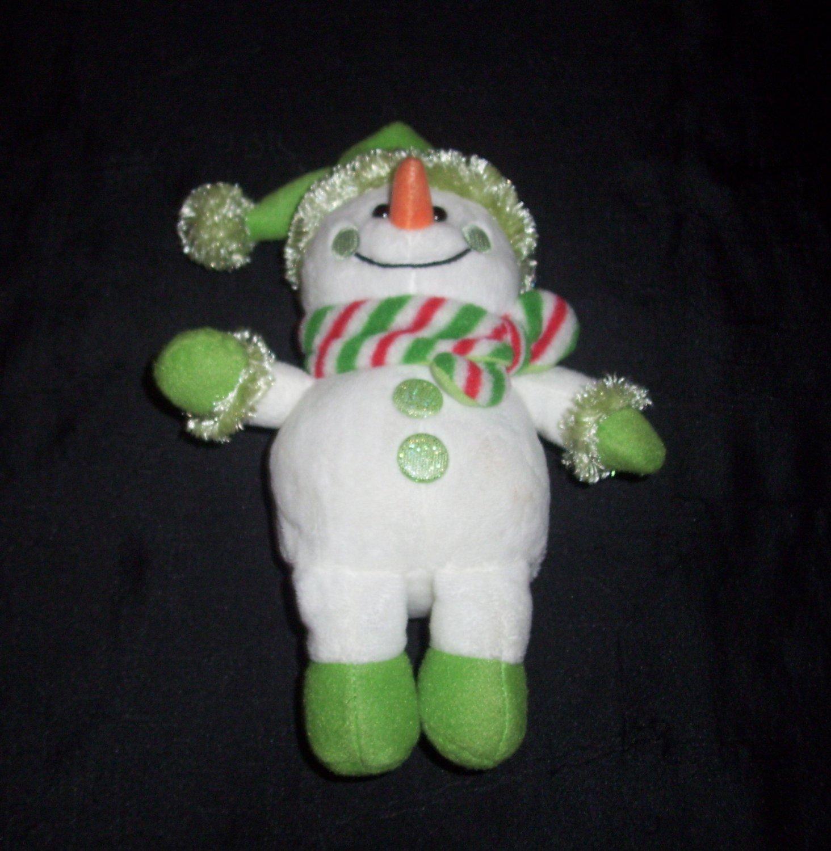 Plush Snowman Teddy Bear