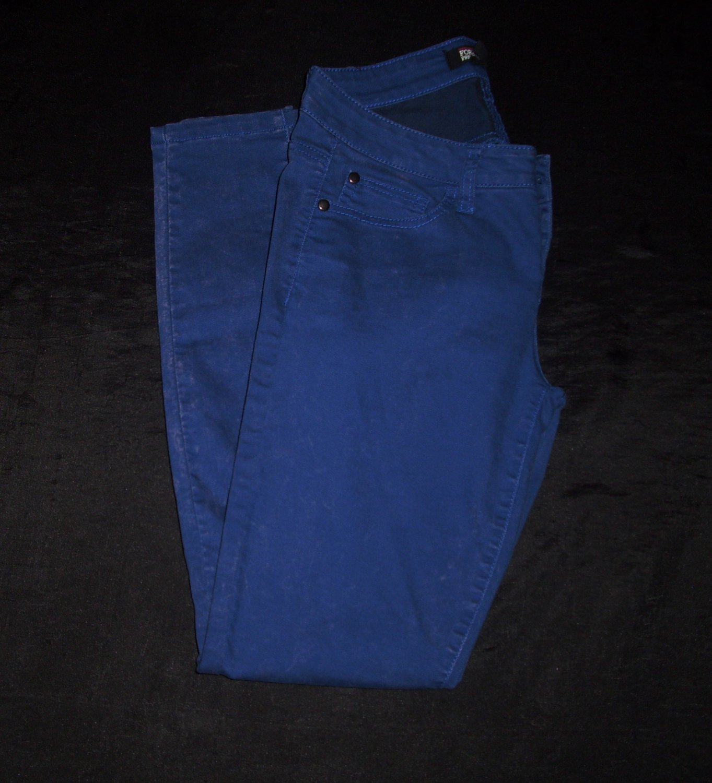 Rue 21 Blue Skinny Jeans- Size 25 (waist)