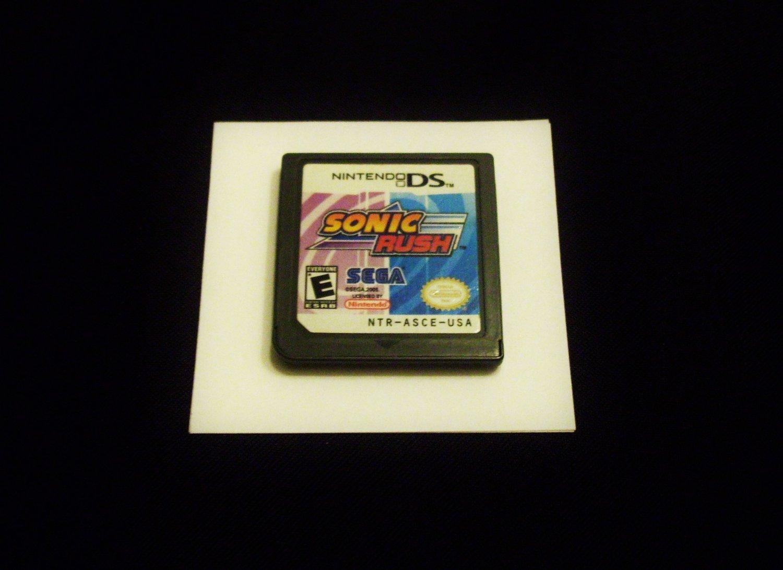 Sonic Rush Game- Nintendo DS