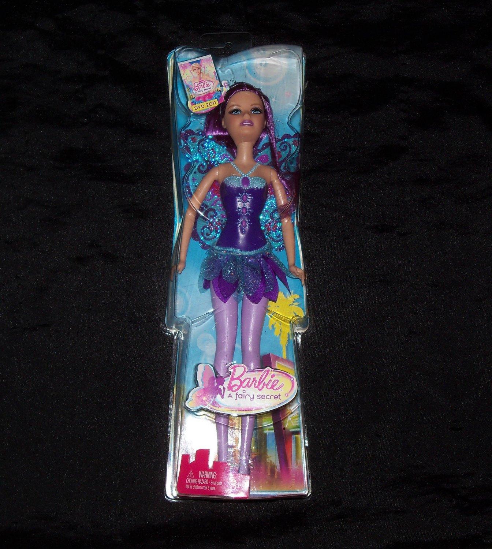 Barbie Fairytale Fairy Barbie Doll- Purple