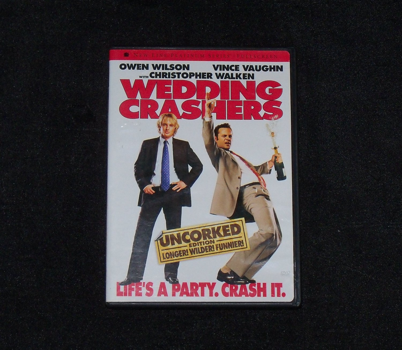 The Wedding Crashers Movie DVD