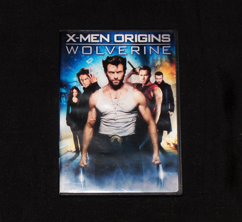 X-Men Origins Wolverine DVD