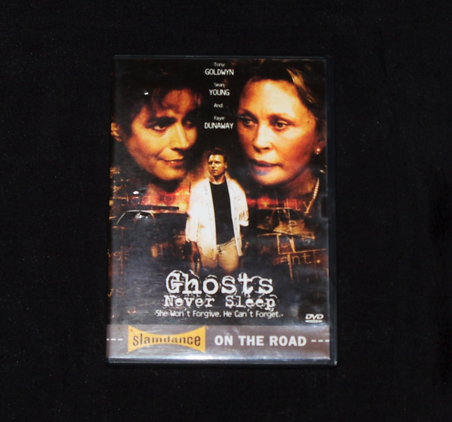 Ghosts Never Sleep DVD