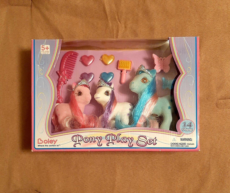 Boley Pony Play Set