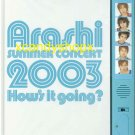 ARASHI 2003 How's it going? Japan official pamphlet with members' voices