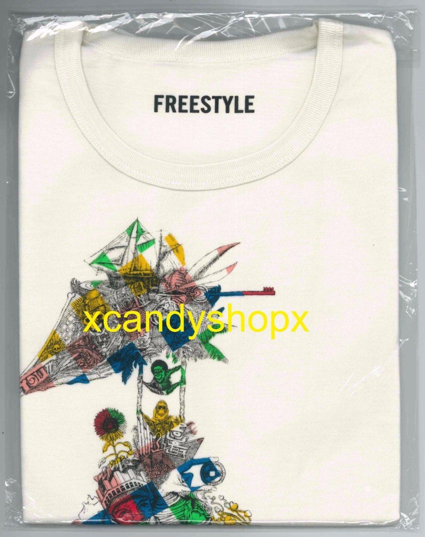ARASHI Ohno Satoshi FREESTYLE 2 Exhibition in Shanghai 2015 official t-shirt