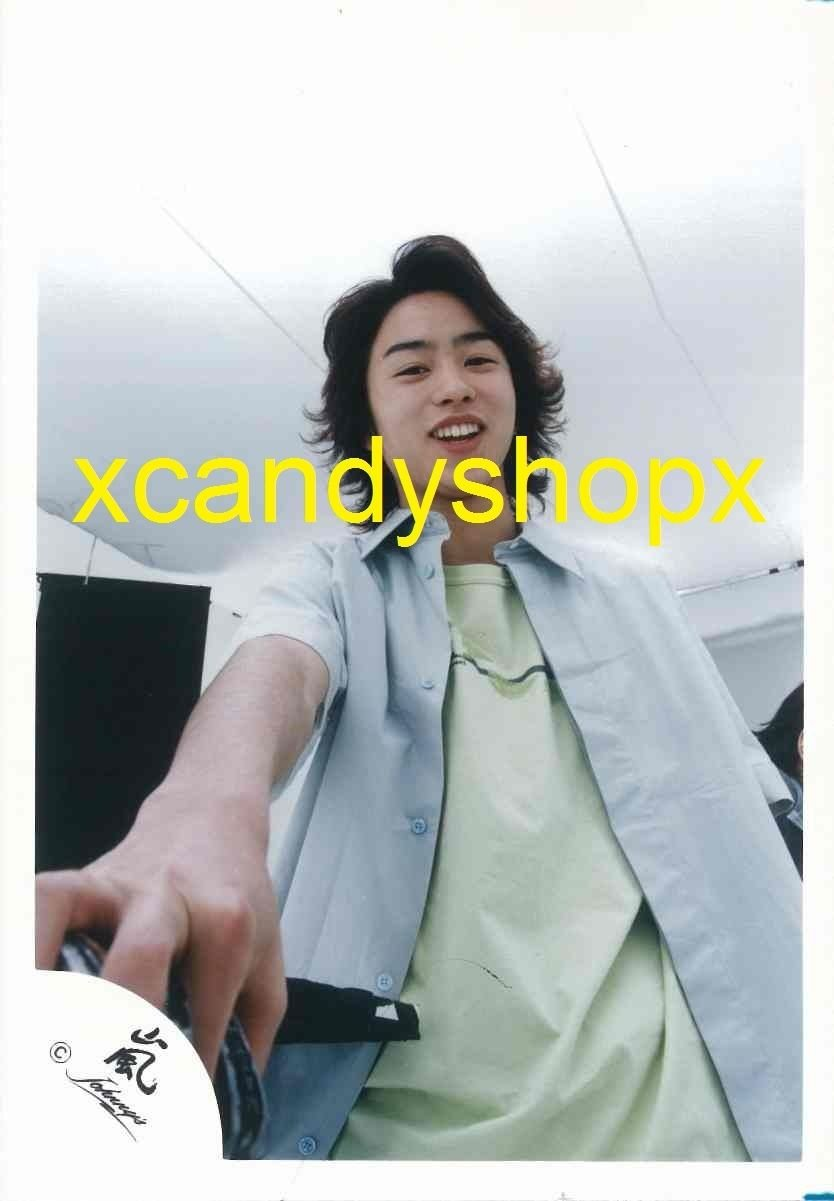 Japan ARASHI 2000 First Concert Johnny's official photo Sakurai Sho