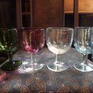 4 Vintage  Beer goblet mugs thumbprint design. excellent condition