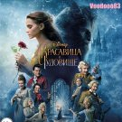 Beauty and the Beast 3D (Blu-ray 3D+2D, 2017) English,Russian,Spanish,Portuguese