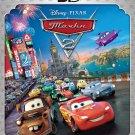 Cars 2 (Blu-ray 3D+2D, 2011, 3-Disc Set) Rus,Eng,Greek,Polish,Kazakh,Ukr