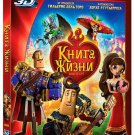 The Book of Life (Blu-ray 3D/2D, 2015) English,Russian,Danish,Norwegian,Swedish
