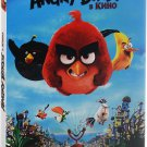 The Angry Birds Movie (DVD, 2016) English,Russian *NEW & SEALED*