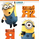 Despicable Me+Despicable Me 2 (Blu-ray, 2-disc set) English,Russian etc. *NEW*