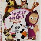 Masha and The Bear :English Version licensed edition (DVD, Ep.19-36) English,Rus