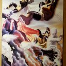 Vintage X-Men Cyclops Iceman Magneto Jean Grey Beast Marvel Poster by Alex Ross