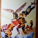 X-Men Marvel Zombies Magneto Cyclops Jean Grey Comic Poster by Arthur Suydam