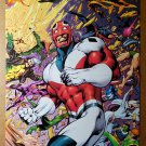 Captain Britain Excalibur Marvel Comic Poster by Alan Davis