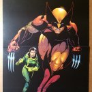 Wolverine Rogue X-Men Marvel Comics Poster by Paul Smith