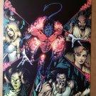 X-Men Nightcrawler Wolverine Marvel Comics Poster by Darick Robertson