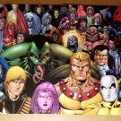 X-Men Spider-Man Exiles 2099 Marvel Universe Poster by James Calafiore