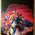 Astonishing X-Men Wolverine Emma Frost Colossus Marvel Poster by John Cassaday