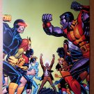 X-Men Vs X-Men Marvel Comic Poster by Dave Cockrum