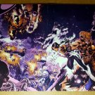 X-Men Cable Rogue Sabretooh Marvel Poster by Chris Bachalo