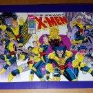 Uncanny X-Men Storm Wolverine Gambit Cable Psylocke Marvel Comics Poster Jim Lee