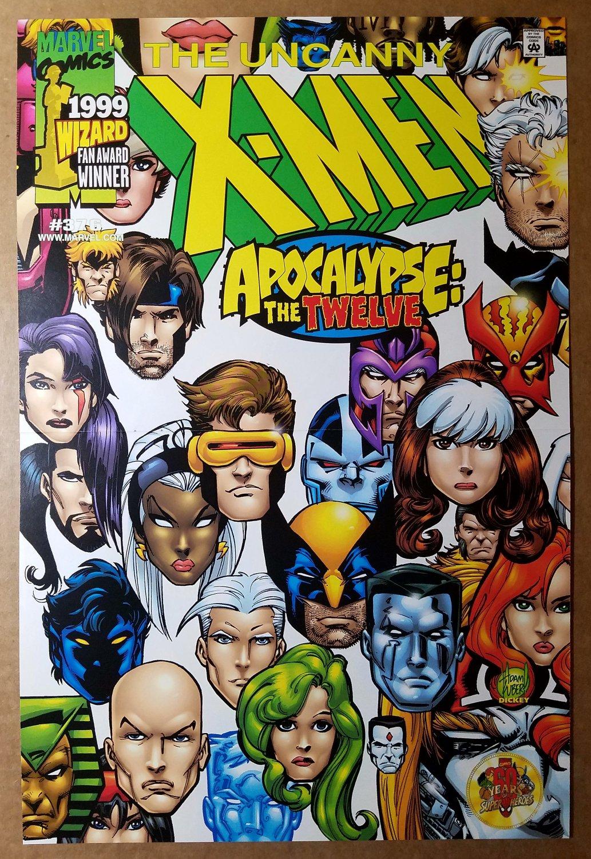 Uncanny X-Men 376 Wolverine Marvel Comics Poster by Adam Kubert
