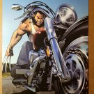 Uncanny X-Men 453 Wolverine Motorcycle Marvel Comics Poster by Greg Land