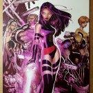 Uncanny X-Men 467 Psylocke Strom Wolverine Marvel Comics Poster by Chris Bachalo