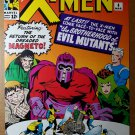 X-Men 4 Angel Cyclops Magneto Marvel Comics Poster by Jack Kirby