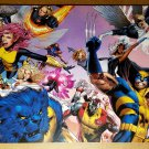 X-Men 500 Wolverine X-23 Colossus Iceman Emma Frost Marvel Poster by Greg Land