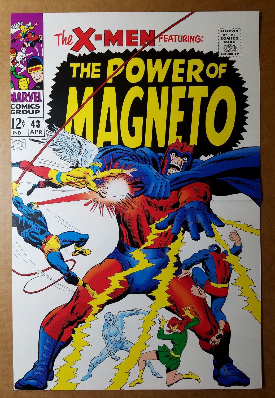 X-Men 43 Vs The Power of Magneto Marvel Poster by John Buscema