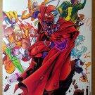 X-Men Magneto Rogue Blink Sabretooth Villains Marvel Comic Poster Joe Madureira