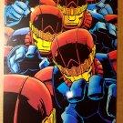 Sentinals X-Men Marvel Comics Poster by Larry Stroman