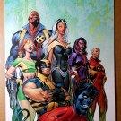 Uncanny X-Men Bishop Phoenix Storm Nightcrawler Marvel Poster by Alan Davis