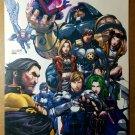 Uncanny X-Men 437 Marvel Comic Poster by Salvador Larroca