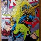 Uncanny X-Men 269 Rogue Vs Ms Marvel Marvel Comics Poster by Jim Lee