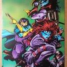 X-Men Nightcrawler Mystique Marvel Comics Poster by Carlos Pacheco