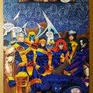 X-Men X-Force Gambit Rogue Jean Grey Marvel Comics Poster by Jim Lee