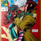 Rogue Kissing Kiss Gambit X-Men 24 Marvel Comics Poster by Adam Kubert
