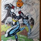 Storm Ororo Munroe Marvel Comics Poster by Jim Lee